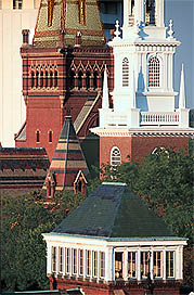 Memorial Church and Memorial Hall Steeples